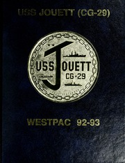 Jouett (CG 29) - Naval Cruise Book online yearbook collection, 1993 Edition, Page 1