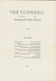 Page 5, 1947 Edition, Haynesville High School - Tornado Yearbook (Haynesville, LA) online yearbook collection