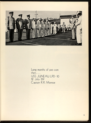 Page 9, 1971 Edition, Juneau (LPD 10) - Naval Cruise Book online yearbook collection