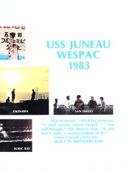 Page 7, 1983 Edition, Juneau (LPD 10) - Naval Cruise Book online yearbook collection