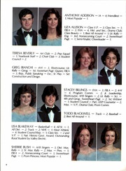 Page 12, 1983 Edition, Anacoco High School - Chief Yearbook (Anacoco, LA) online yearbook collection