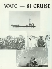 Page 8, 1982 Edition, Kalamazoo (AOR 6) - Naval Cruise Book online yearbook collection