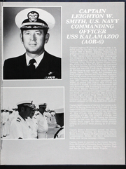 Page 11, 1983 Edition, Kalamazoo (AOR 6) - Naval Cruise Book online yearbook collection