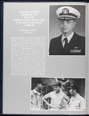 Page 12, 1983 Edition, Kalamazoo (AOR 6) - Naval Cruise Book online yearbook collection