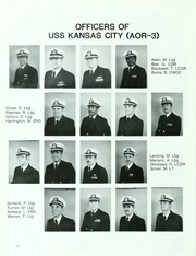 Page 16, 1982 Edition, Kansas City (AOR 3) - Naval Cruise Book online yearbook collection