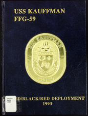 1993 Edition, Kauffman (FFG 59) - Naval Cruise Book