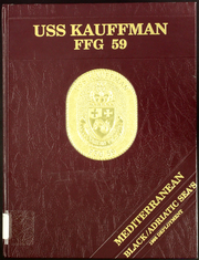 1995 Edition, Kauffman (FFG 59) - Naval Cruise Book