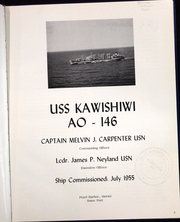 Page 8, 1966 Edition, Kawishiwi (AO 146) - Naval Cruise Book online yearbook collection