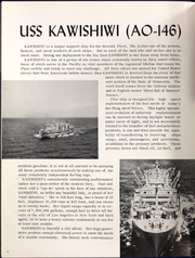 Page 9, 1966 Edition, Kawishiwi (AO 146) - Naval Cruise Book online yearbook collection
