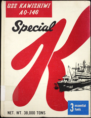 Page 1, 1971 Edition, Kawishiwi (AO 146) - Naval Cruise Book online yearbook collection