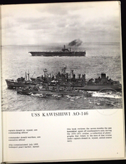 Page 10, 1971 Edition, Kawishiwi (AO 146) - Naval Cruise Book online yearbook collection