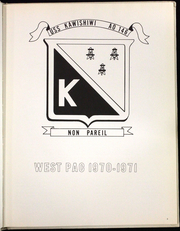 Page 8, 1971 Edition, Kawishiwi (AO 146) - Naval Cruise Book online yearbook collection