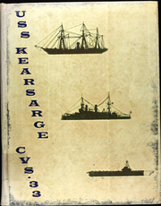 1961 Edition, Kearsarge (CVS 33) - Naval Cruise Book