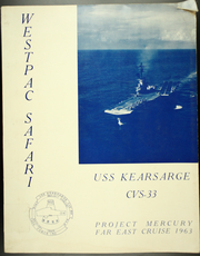 1963 Edition, Kearsarge (CVS 33) - Naval Cruise Book