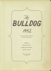Page 7, 1952 Edition, Crowville High School - Bulldog Yearbook (Crowville, LA) online yearbook collection