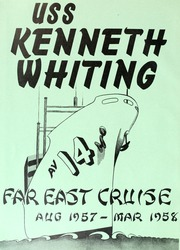 Page 4, 1958 Edition, Kenneth Whiting (AV 14) - Naval Cruise Book online yearbook collection