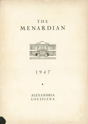 Page 7, 1947 Edition, Menard Memorial High School - Menardian Yearbook (Alexandria, LA) online yearbook collection