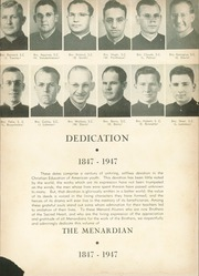 Page 9, 1947 Edition, Menard Memorial High School - Menardian Yearbook (Alexandria, LA) online yearbook collection