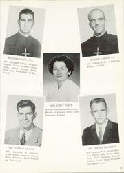 Page 15, 1959 Edition, Menard Memorial High School - Menardian Yearbook (Alexandria, LA) online yearbook collection