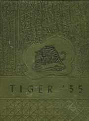 1955 Edition, Montgomery High School - Tiger Yearbook (Montgomery, LA)