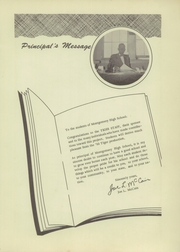 Page 7, 1955 Edition, Montgomery High School - Tiger Yearbook (Montgomery, LA) online yearbook collection