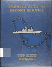 1987 Edition, Kidd (DDG 993) - Naval Cruise Book