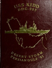 1991 Edition, Kidd (DDG 993) - Naval Cruise Book
