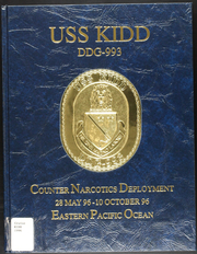 1996 Edition, Kidd (DDG 993) - Naval Cruise Book