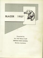 Page 5, 1957 Edition, Bernice High School - Blazer Yearbook (Bernice, LA) online yearbook collection