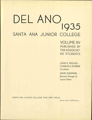 Page 11, 1935 Edition, Santa Ana Junior College - Del Ano Yearbook (Santa Ana, CA) online yearbook collection