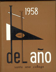 Page 1, 1958 Edition, Santa Ana Junior College - Del Ano Yearbook (Santa Ana, CA) online yearbook collection