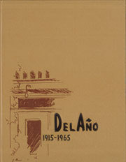 Page 1, 1965 Edition, Santa Ana Junior College - Del Ano Yearbook (Santa Ana, CA) online yearbook collection