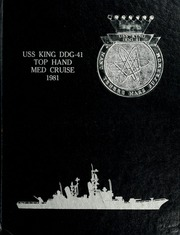 Page 1, 1981 Edition, King (DDG 41) - Naval Cruise Book online yearbook collection