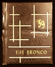 Page 1, 1959 Edition, Simpson High School - Bronco Yearbook (Simpson, LA) online yearbook collection