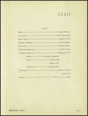 Page 9, 1947 Edition, Dubach High School - Rattler Yearbook (Dubach, LA) online yearbook collection
