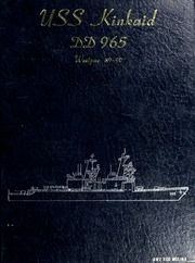 1990 Edition, Kinkaid (DD 965) - Naval Cruise Book