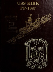 Page 1, 1988 Edition, Kirk (FF 1087) - Naval Cruise Book online yearbook collection