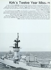 Page 7, 1988 Edition, Kirk (FF 1087) - Naval Cruise Book online yearbook collection