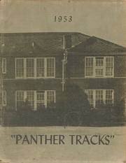 1953 Edition, Epps High School - Panther Tracks Yearbook (Epps, LA)