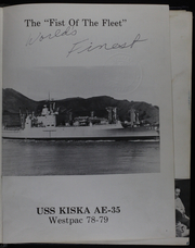 Page 5, 1979 Edition, Kiska (AE 35) - Naval Cruise Book online yearbook collection
