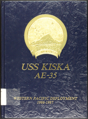 1987 Edition, Kiska (AE 35) - Naval Cruise Book