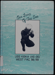 1989 Edition, Kiska (AE 35) - Naval Cruise Book