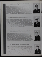 Page 10, 1991 Edition, Kiska (AE 35) - Naval Cruise Book online yearbook collection