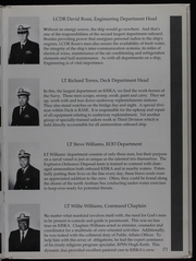 Page 11, 1991 Edition, Kiska (AE 35) - Naval Cruise Book online yearbook collection