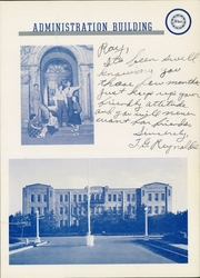 Page 13, 1941 Edition, Arlington State College - Reveille Yearbook (Arlington, TX) online yearbook collection