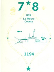 La Moure County (LST 1194) - Naval Cruise Book online yearbook collection, 1978 Edition, Page 1