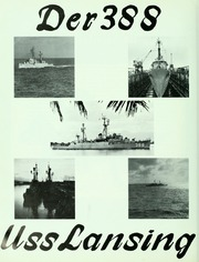 Page 8, 1965 Edition, Lansing (DER 388) - Naval Cruise Book online yearbook collection