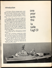 Page 5, 1974 Edition, La Salle (AGF 3) - Naval Cruise Book online yearbook collection