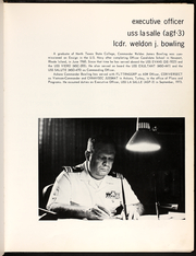Page 9, 1974 Edition, La Salle (AGF 3) - Naval Cruise Book online yearbook collection