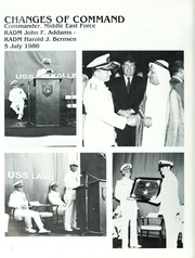 Page 16, 1986 Edition, La Salle (AGF 3) - Naval Cruise Book online yearbook collection